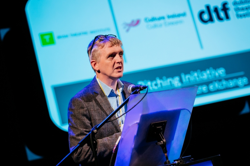 ITX 2019: Ciarán Walsh from Culture Ireland gives the welcoming remarks