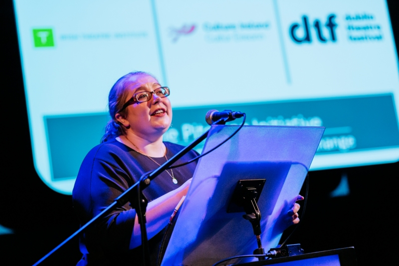 ITX 2019: Ruth McGowan presents the Fringe Wildcard at the Pitching Initiative