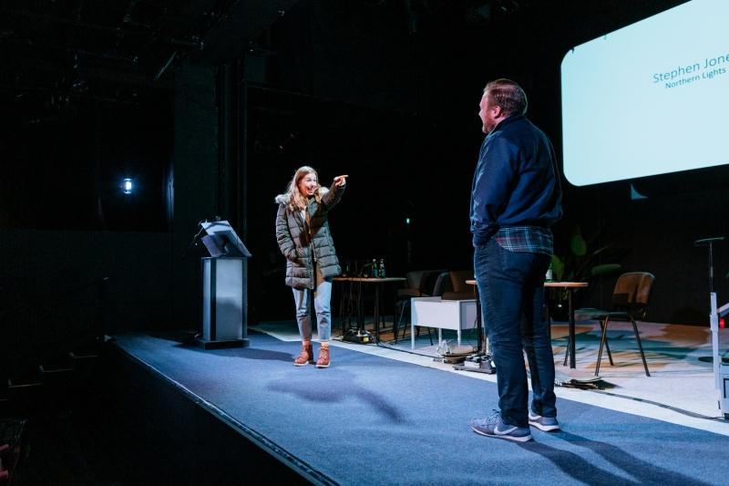 ITX 2019: Stephen Jones presents at Pitching Initiative