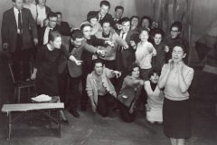 Cast of the original production of An Triail by Máiréad Ní Ghráda, An Damer, 1964. © Gael Linn